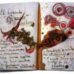 Фрида Кало почерк
