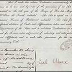 Карл Маркс письмо